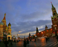 Moscow - the Red Square and St. basil's Cathedral