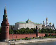 Moscow - Kremlin, lavish stronghold of Russian power