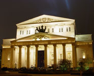 Moscow - The Bolshoi, city's most famous and oldest theater