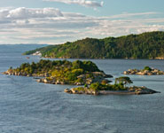 Oslo - the fiords are a popular recreational destination