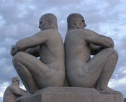 Oslo - Vigeland Park, city's most visited attraction