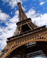 Paris - Eiffel Tower, most recognizable attraction of Paris