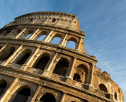 Rome - the Colloseum, a symbol of ancient Rome