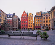 Stockholm - Gamla Stan, the picturesque old part of the city