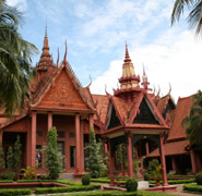 Phnom Penh, National Museum - nation's leading archeology museum