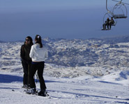 Beirut - skiing within easy reach of the city