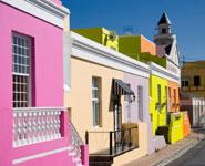 Cape Town - Bo Kaap - colorful Malay quarter