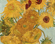 Vincent Van Gogh's famous painting of sunflowers