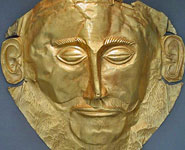 Athens - National Archaeological Museum, the mask of Agamemnon