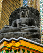 Bangkok - the Emerald Buddha Temple