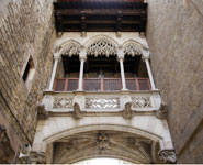 Barcelona - Barri Gotic, the oldest quarter of the city