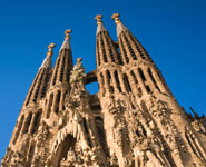 Barcelona - La Sagrada Familia, city's most iconic building