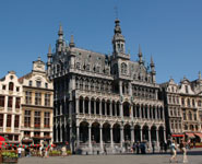 Brussels - the Grand Place, city's major tourist attraction