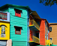 Buenos Aires - La Boca, a charming, colorful district