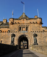 Edinburgh - The Edinburgh Castle is a powerful Scottish national symbol