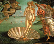 Florence - Uffizi Gallery - home to the famous painting Birth of Venus by Botticelli