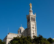 Marseille - Basilique Notre Dame de la Garde, city's top attraction