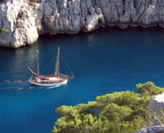 spectacular nature of Calanques near Marseilles