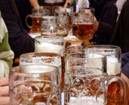 Munich - Octoberfest beer festival, the city's best loved attraction