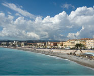 Nice - Promenade des Anglais, a favorite tourists' and locals' hangout