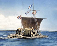 Oslo - Kon Tiki museum, dedicated to the great adventurer Thor Heyerdahl
