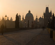 Prague - Charles Bridge, city's major attraction