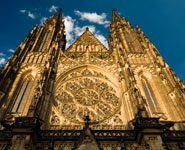 Prague - St. Vitus Cathedral, the largest church in Prague