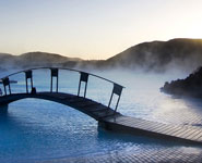 Reykjavik - The Blue Lagoon, a popular geothermal spa