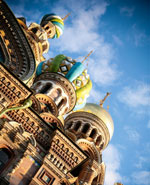 St. Petersburg, the Church on Spilled Blood