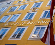 Salzburg, birthplace of Mozart
