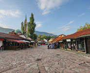 Sarajevo - Bascarsija, the main marketplace and top attraction