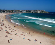 Sydney - Bondi Beach, city's most famous beach