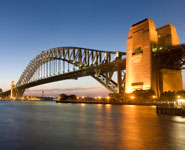 Sydney - Harbour Bridge, offers stunning views of the city