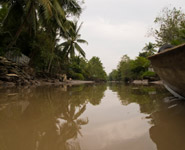 The Mekong Delta - picturesque water canals