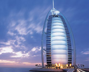 Dubai - The Sail Hotel - the amazing seven star hotel