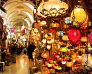 Istanbul - The Grand Bazaar, the world's oldest shopping mall