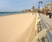 Beirut - the popular white sandy beaches