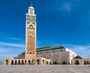 Casablanca - Hassan II Mosque, the city's major landmark