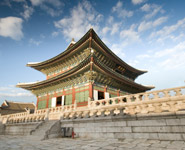 Seoul - Gyeongbok-Gung Palace, one of the grandest palaces in the city