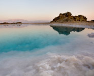 The Dead Sea, Jordan - the lowest point on Earth