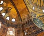 Istanbul - Hagia Sophia, one of the city's most popular landmarks