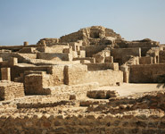 Manama - Bahrain Fort, the largest archeological site in the country