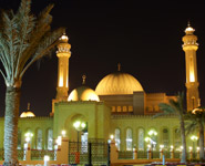 Manama - Al-Fateh Mosque, the largest mosque in Bahrain